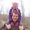Pickerel Lake hike--Nick and Claire