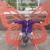 Seeing the butterflies at Meijer Gardens